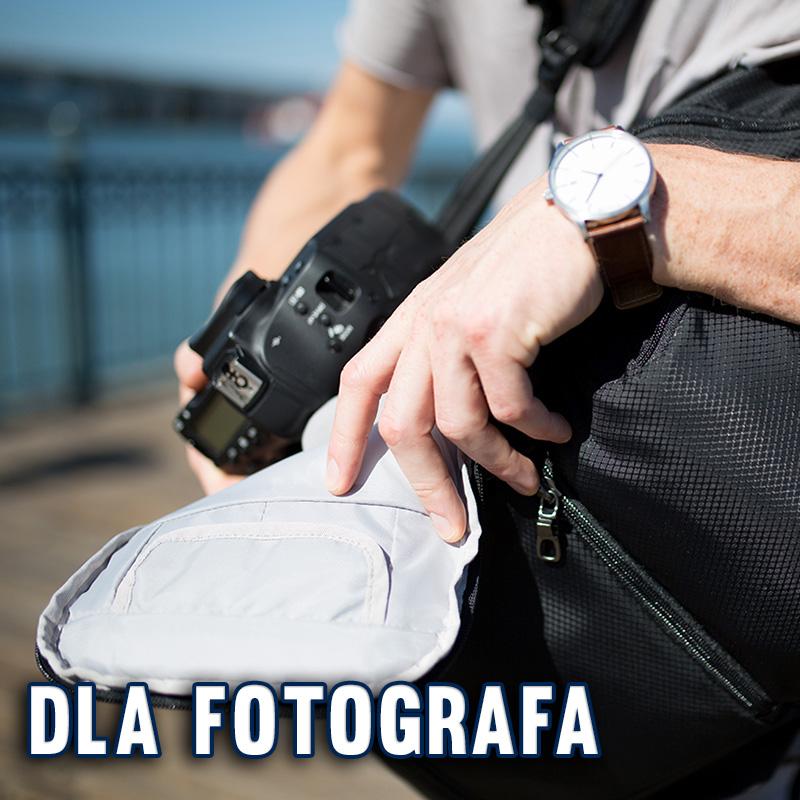 Antykradzieżowe torby i plecaki fotograficzne